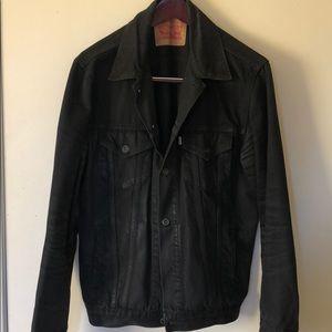 Levi's Denim Trucker Jacket Black L